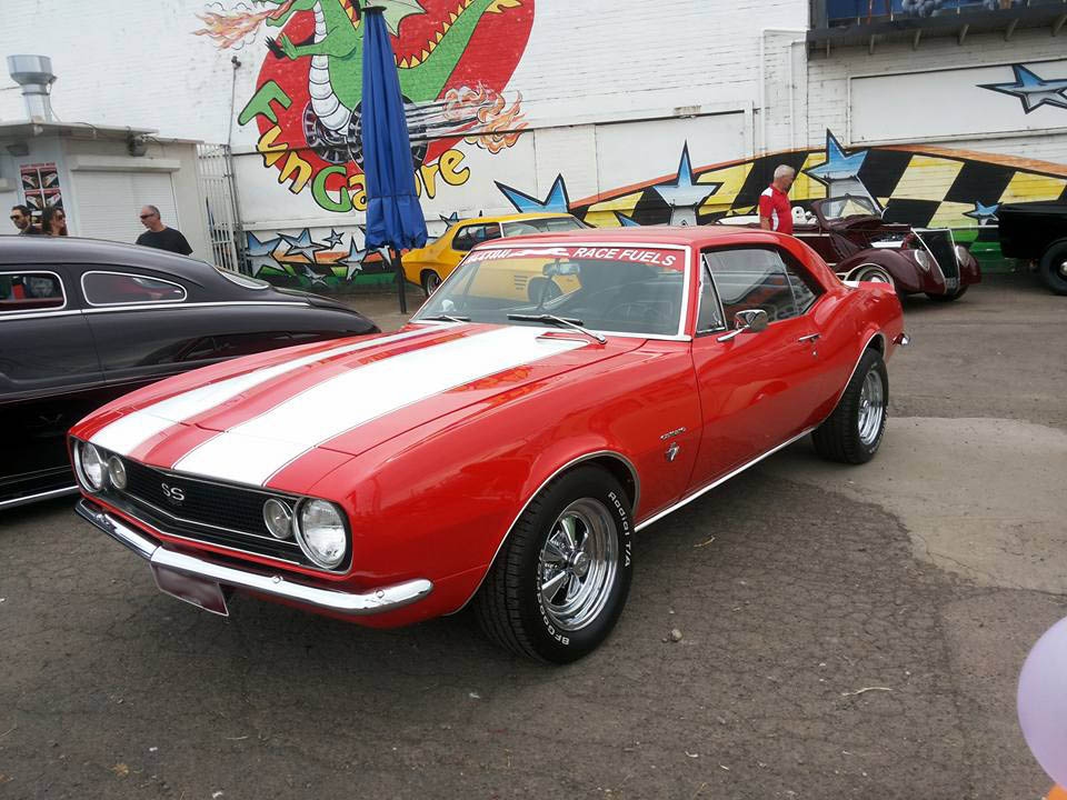 red car in car show - Auto parts for all makes and models - Kam Auto Parts